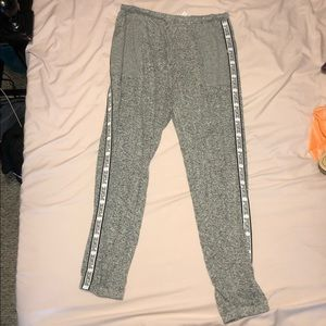 PINK grey joggers
